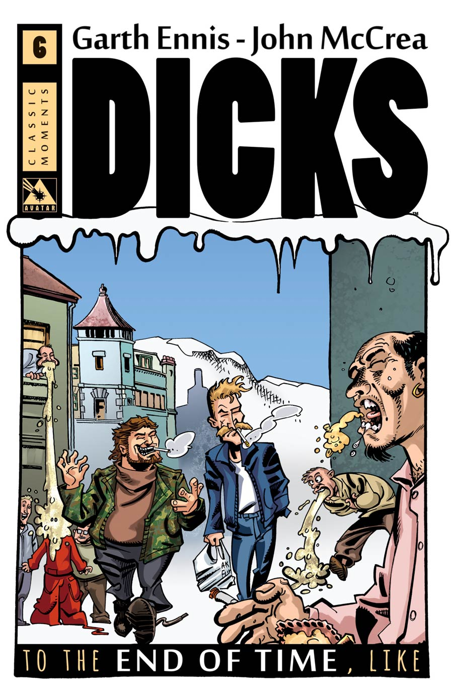Dicks End Of Time #6 Cover C Incentive Classic Moment Cover