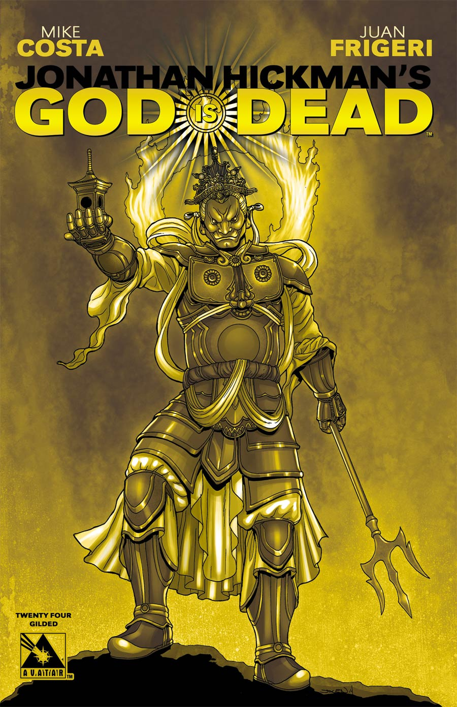 God Is Dead #24 Cover E Incentive Gilded Cover