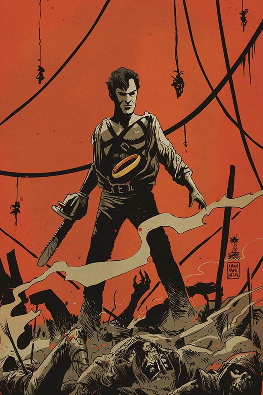Army Of Darkness Ash Gets Hitched #4 Cover E Incentive Francesco Francavilla Virgin Cover