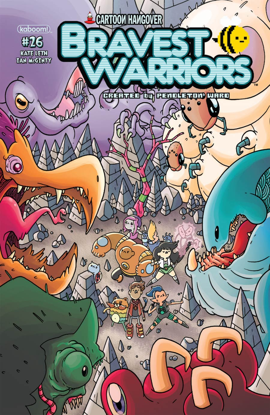 Bravest Warriors #26 Cover A Regular Ian McGinty Cover