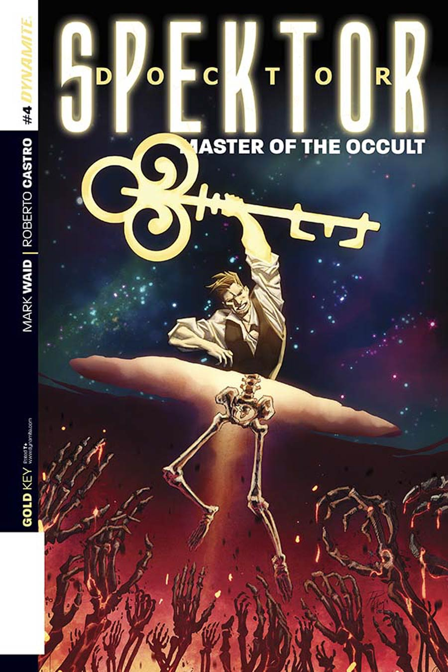 Doctor Spektor Master Of The Occult #4 Cover C Incentive Phil Hester Variant Cover