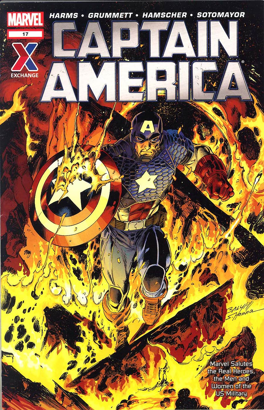 Captain America US Military Exchange #17