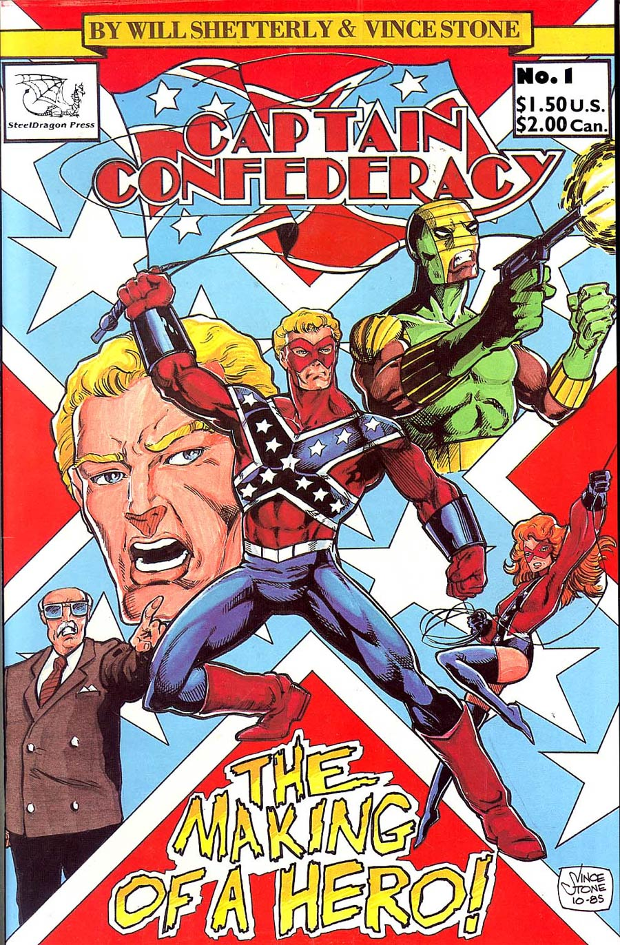 Captain Confederacy #1