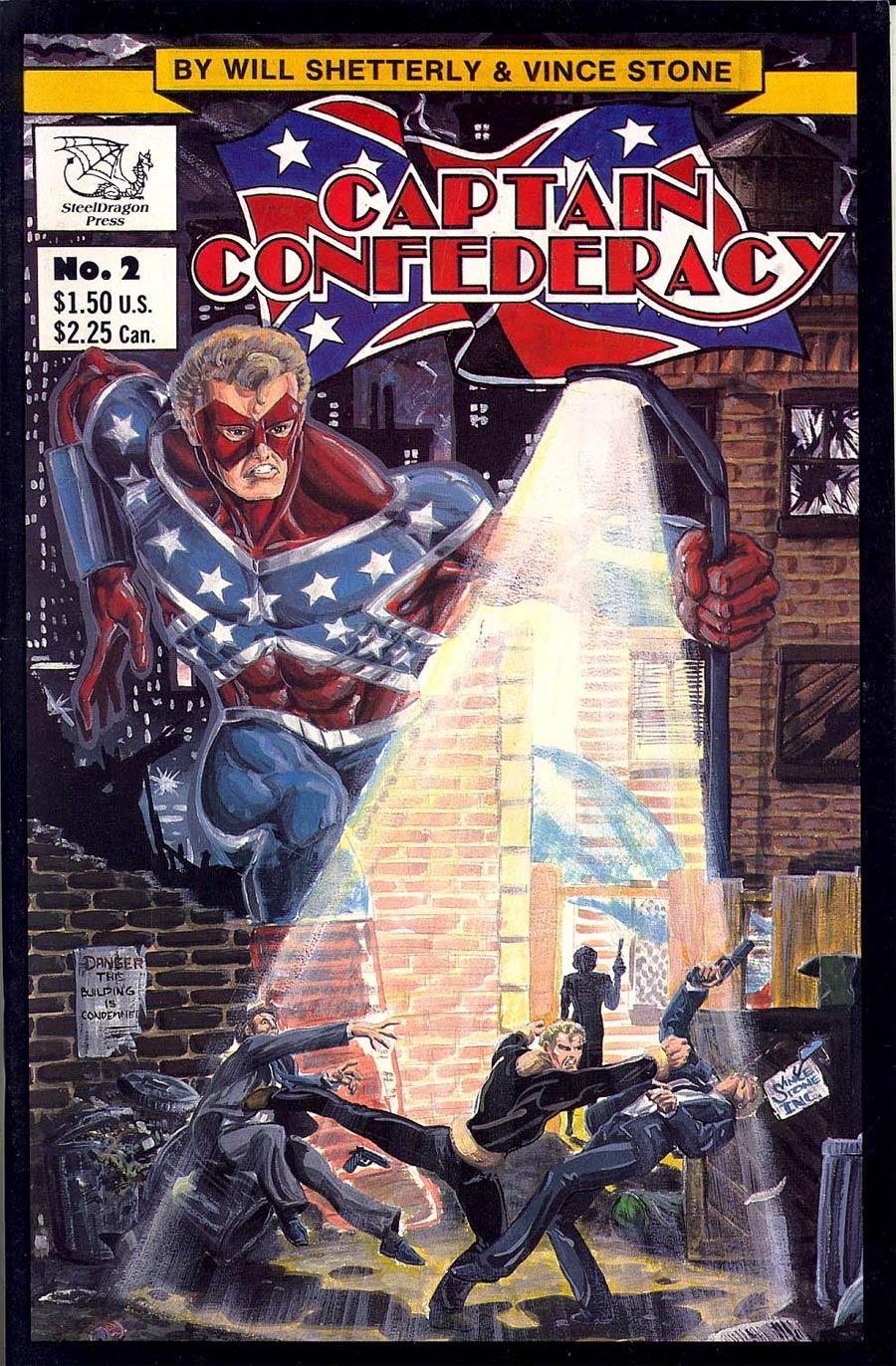 Captain Confederacy #2