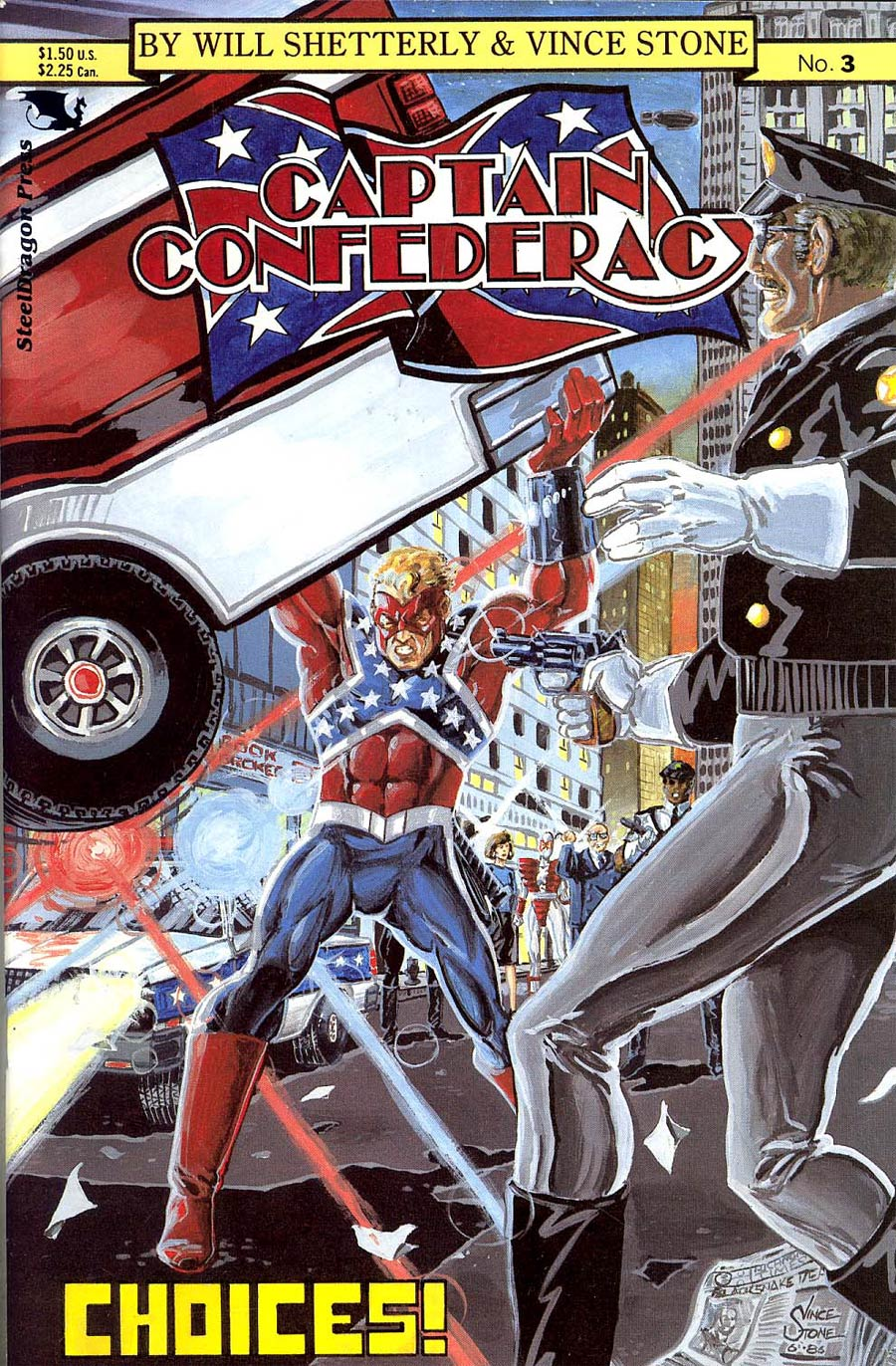 Captain Confederacy #3