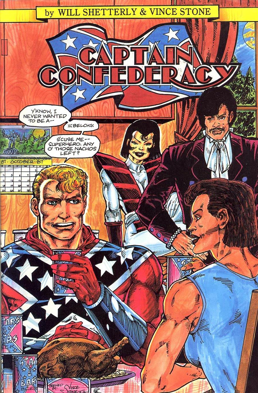 Captain Confederacy #4