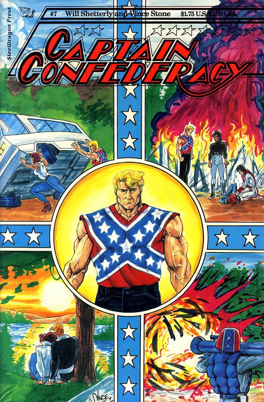 Captain Confederacy #7