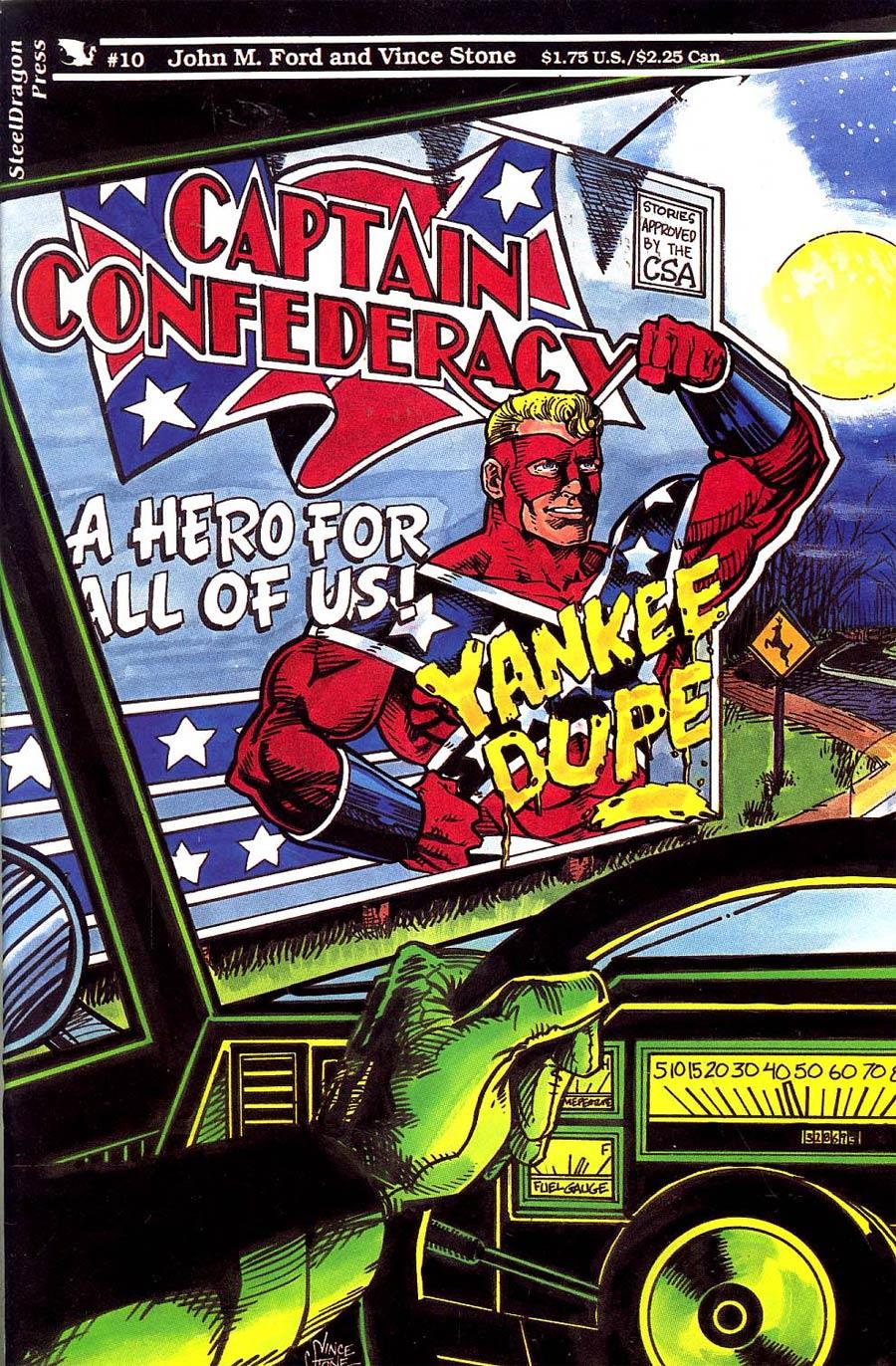 Captain Confederacy #10