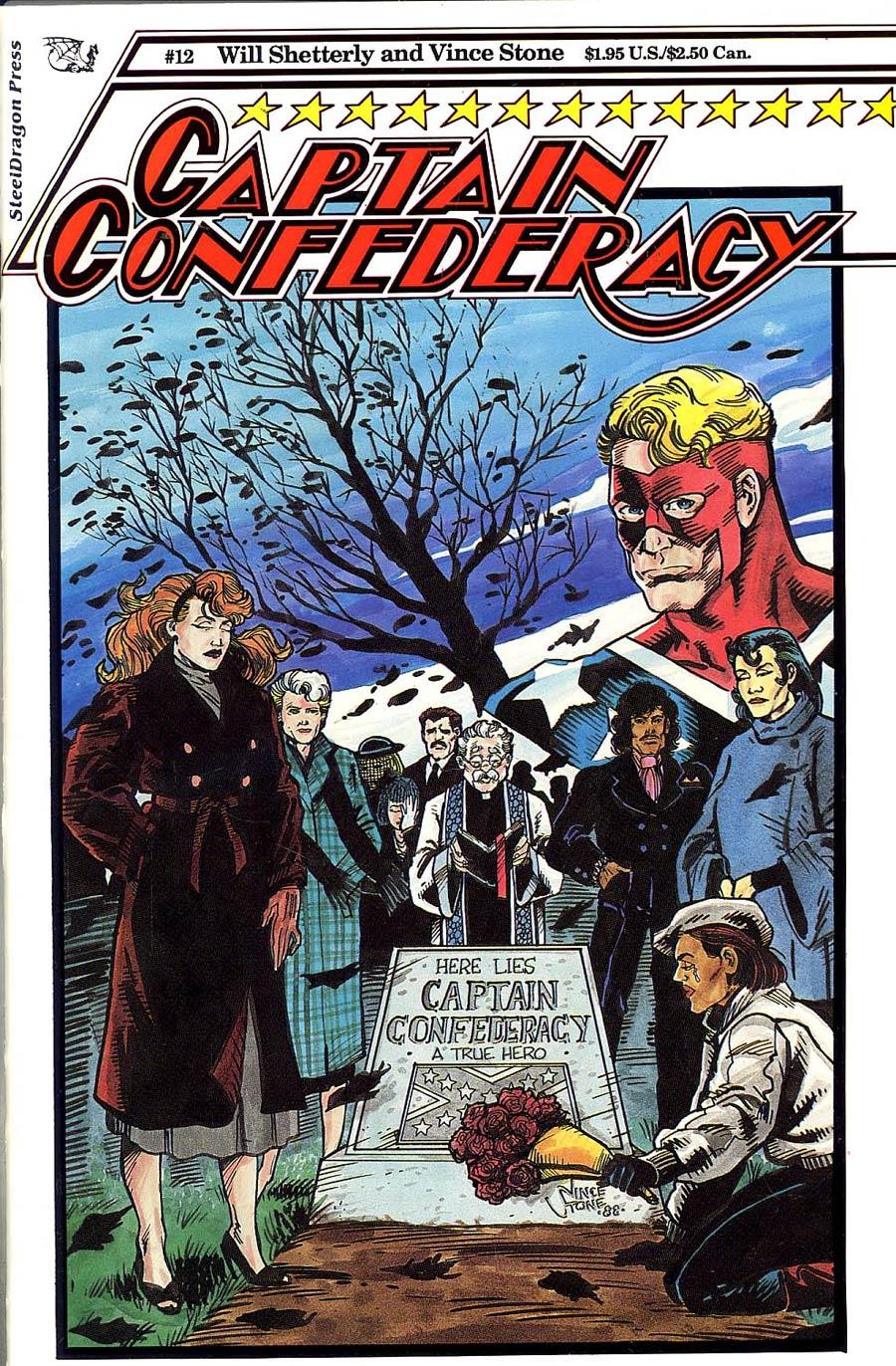 Captain Confederacy #12