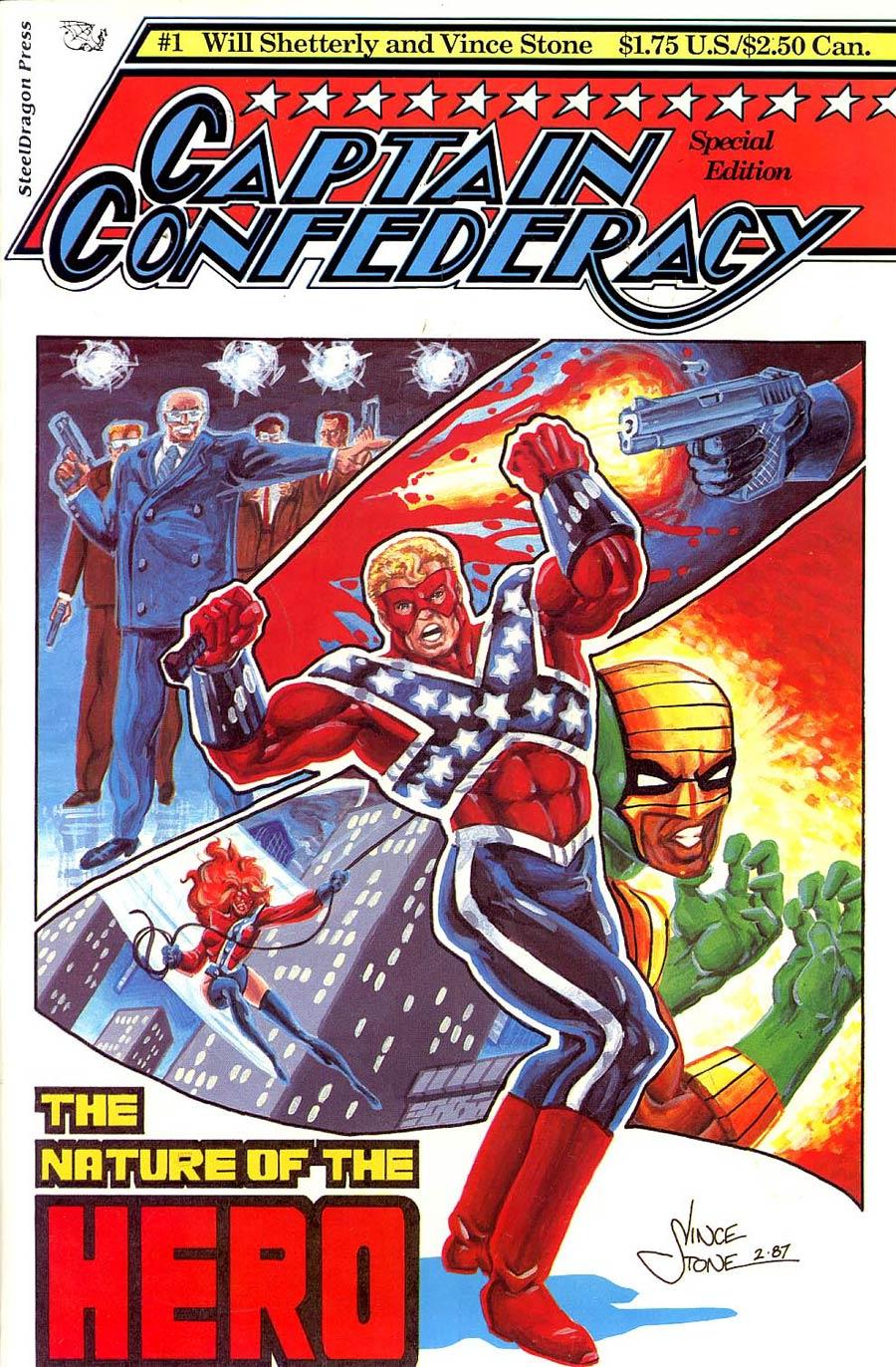 Captain Confederacy Special Edition #1