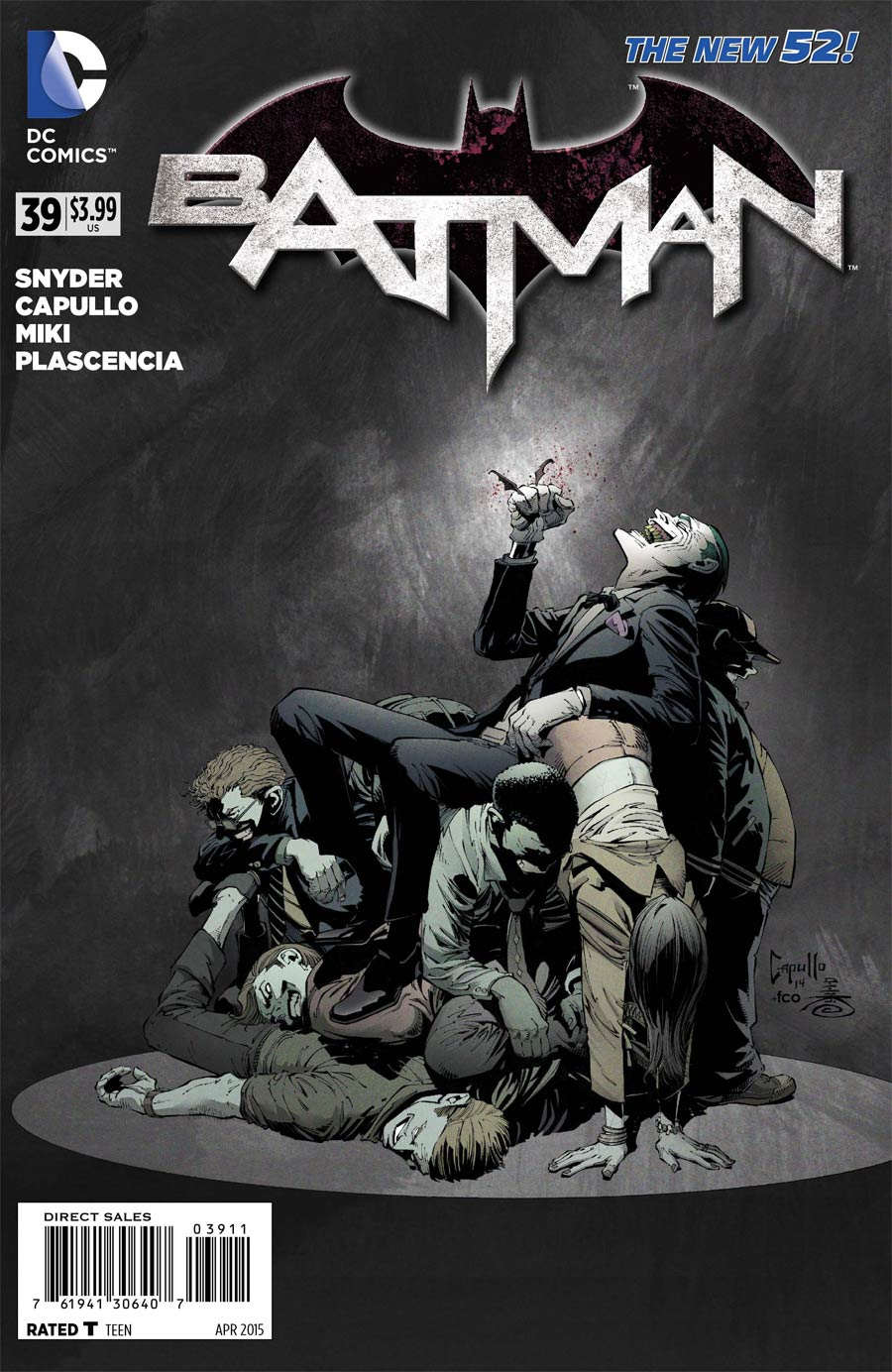 Batman Vol 2 #39 Cover A Regular Greg Capullo Cover