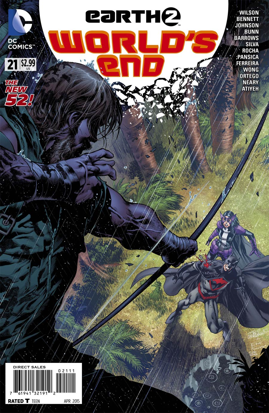 Earth 2 Worlds End #21