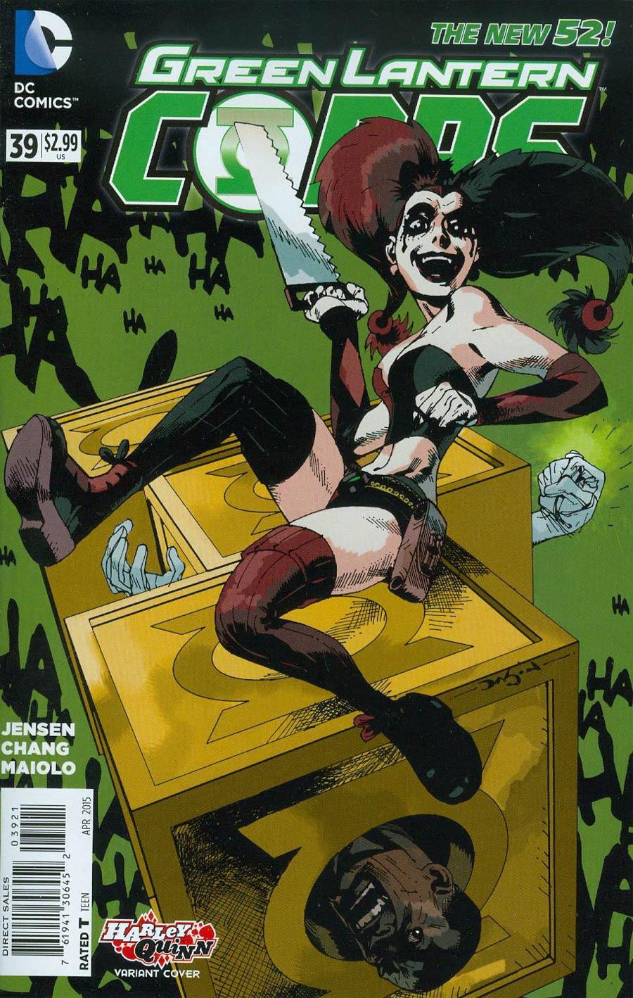 Green Lantern Corps Vol 3 #39 Cover B Variant Jason Pearson Harley Quinn Cover