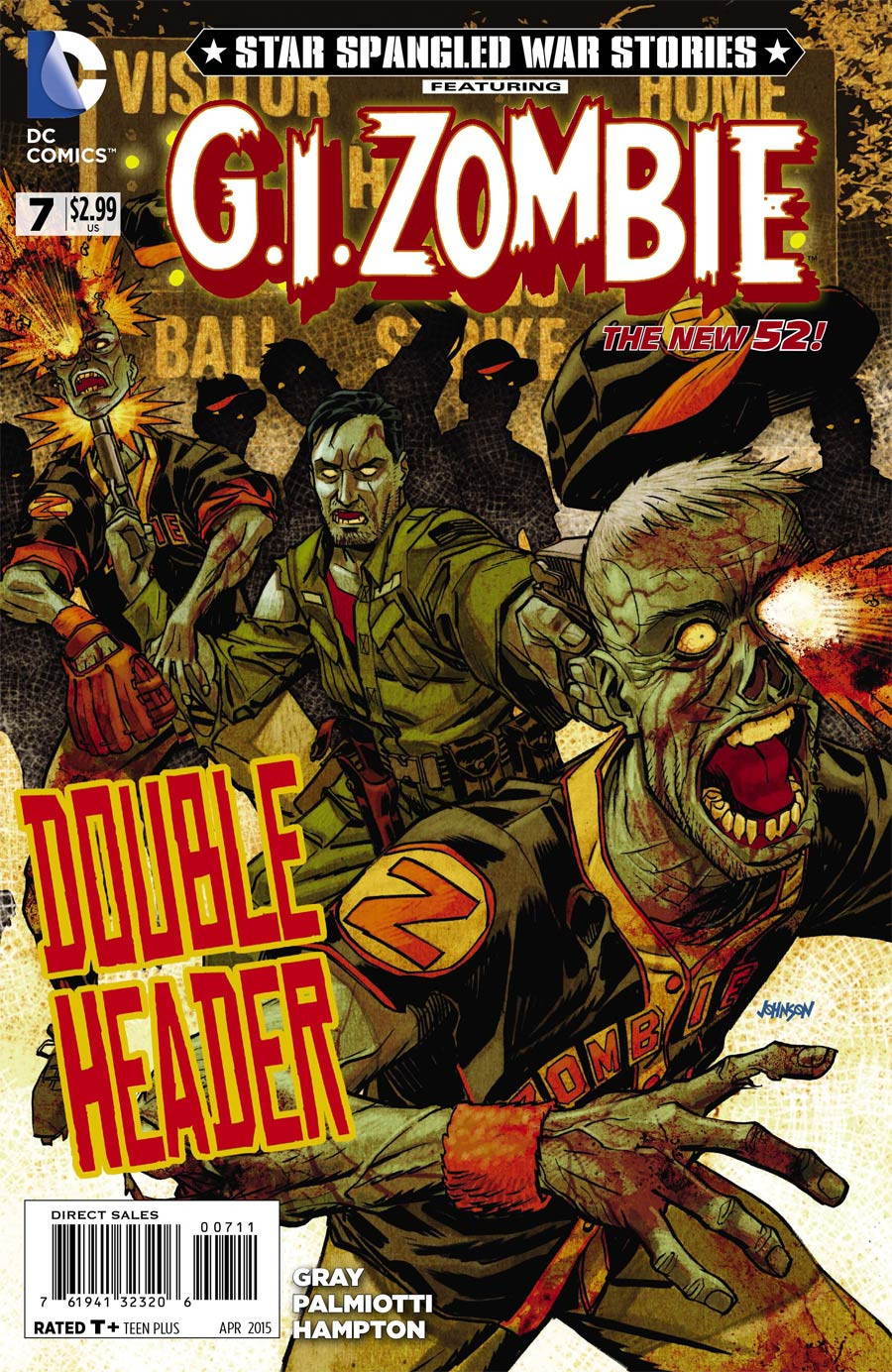 Star-Spangled War Stories Featuring GI Zombie #7