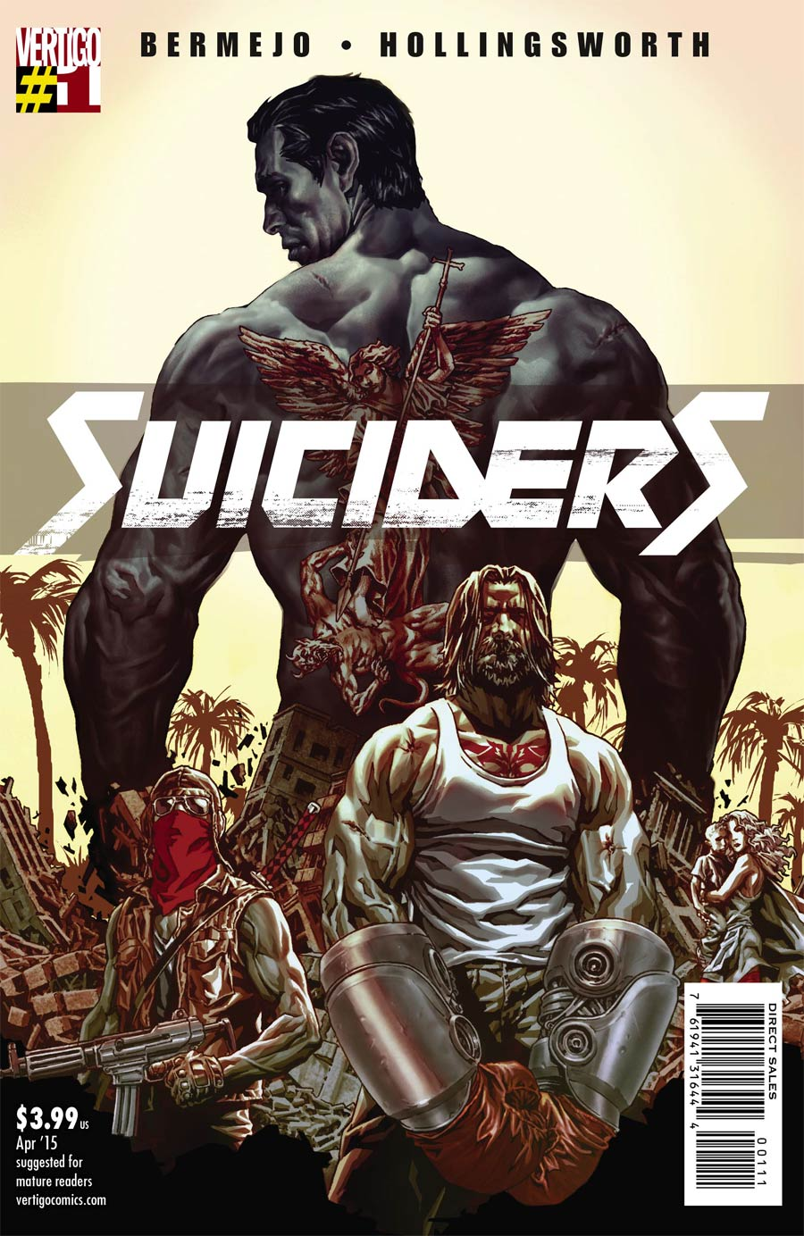 Suiciders #1 Cover A Regular Lee Bermejo Cover