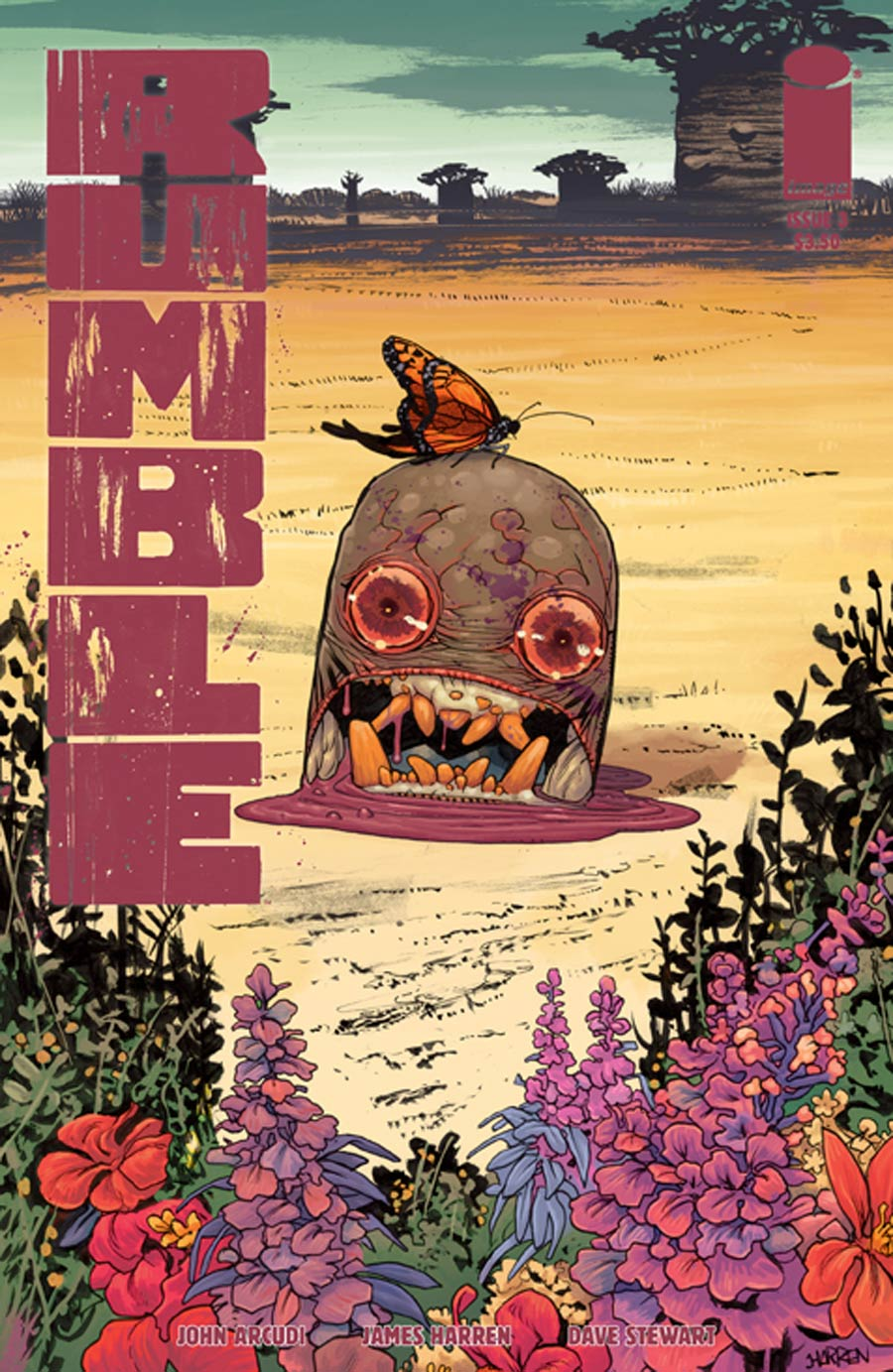 Rumble #3 Cover A 1st Ptg