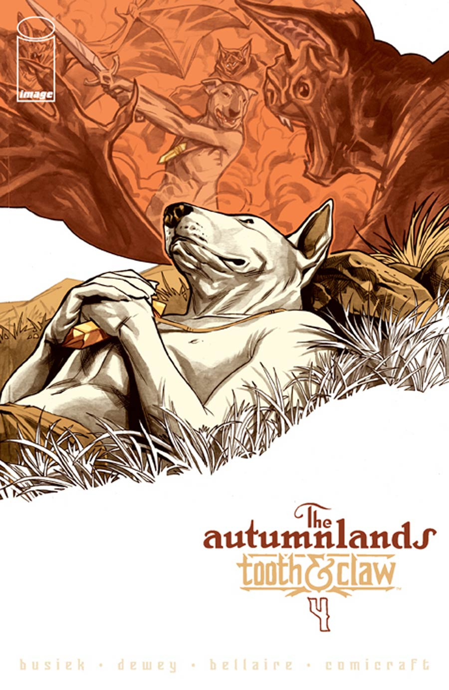 Autumnlands Tooth & Claw #4 Cover A Ben Dewey