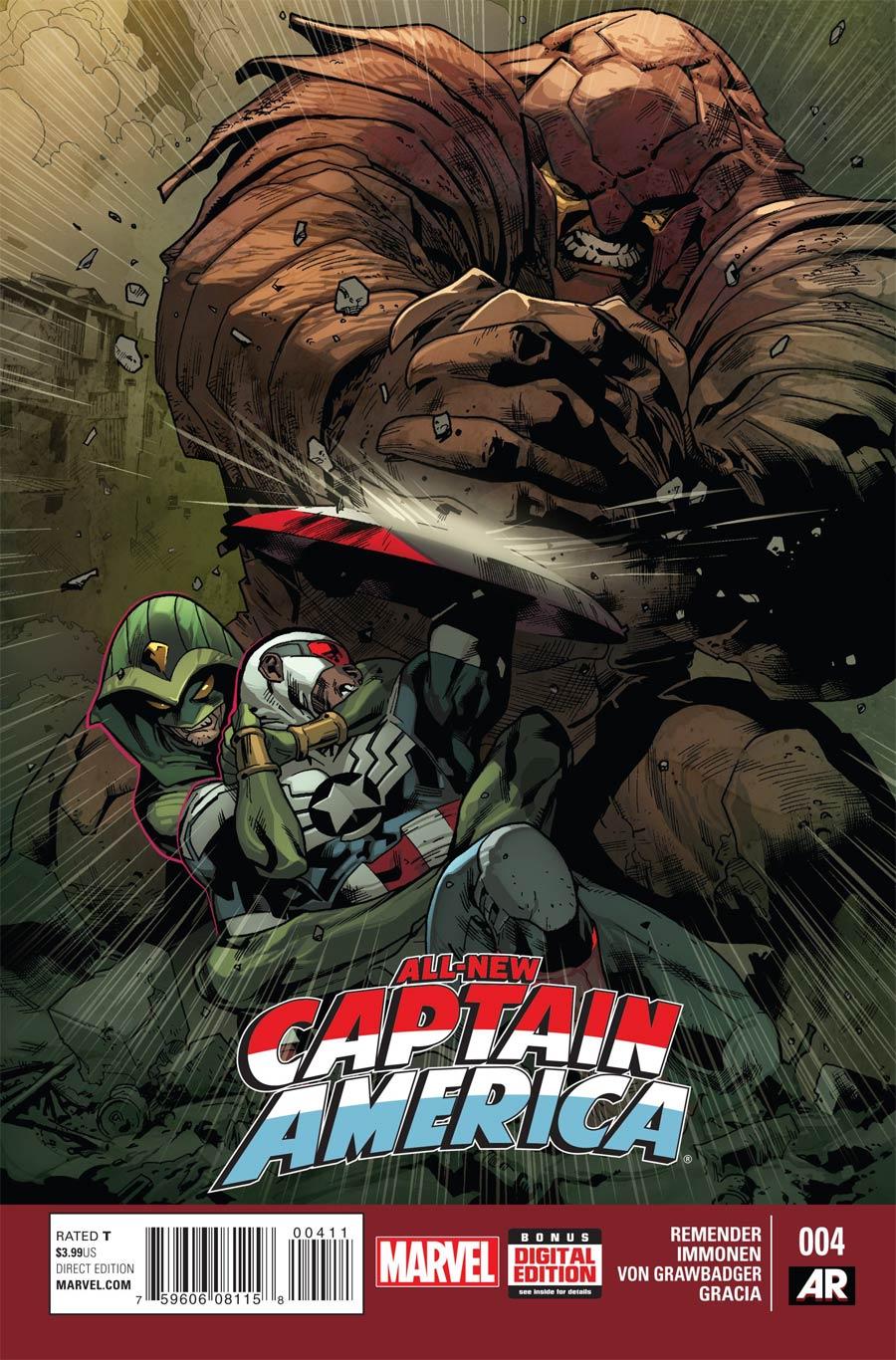 All-New Captain America #4 Cover A Regular Stuart Immonen Cover