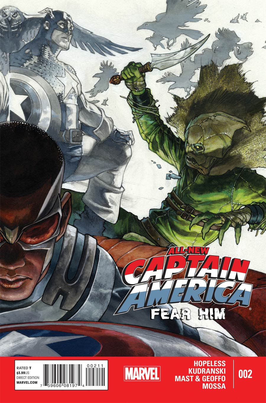 All-New Captain America Fear Him #2
