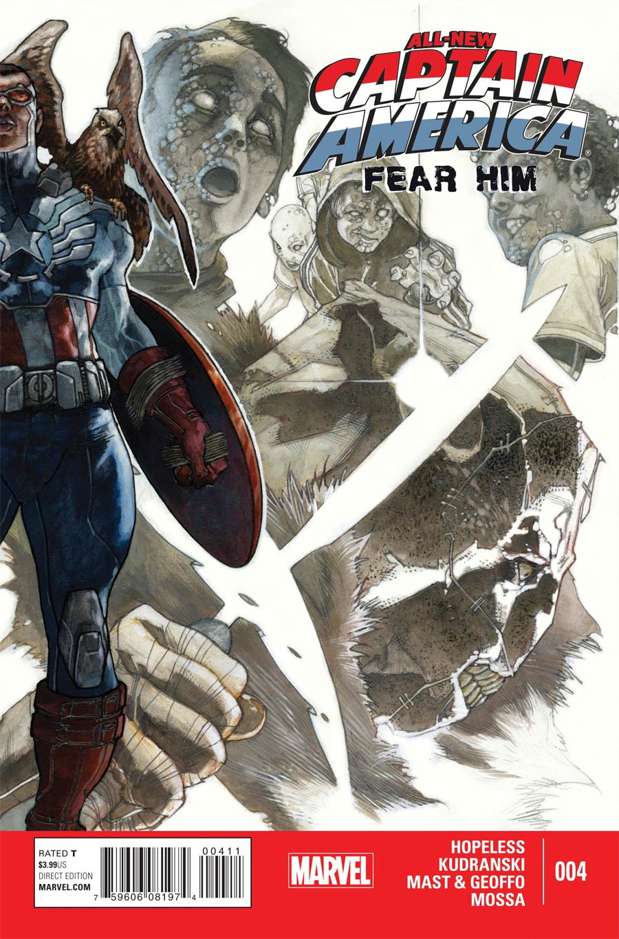 All-New Captain America Fear Him #4