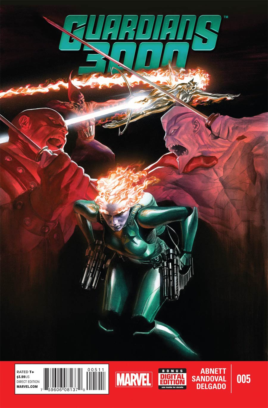 Guardians 3000 #5 Cover A Regular Alex Ross Cover