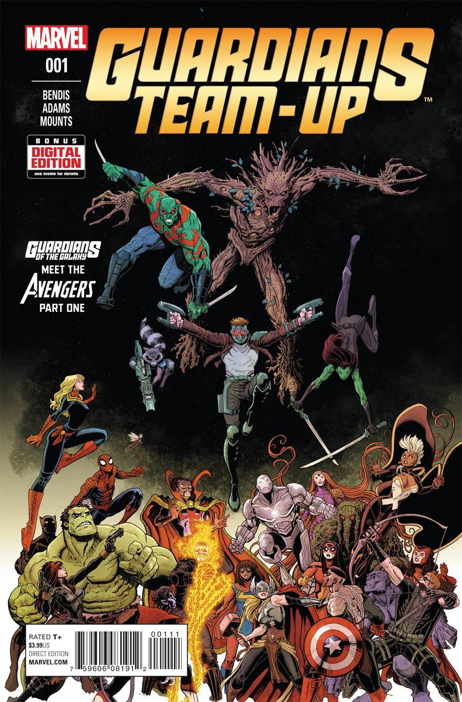Guardians Team-Up #1 Cover A Regular Arthur Adams Cover