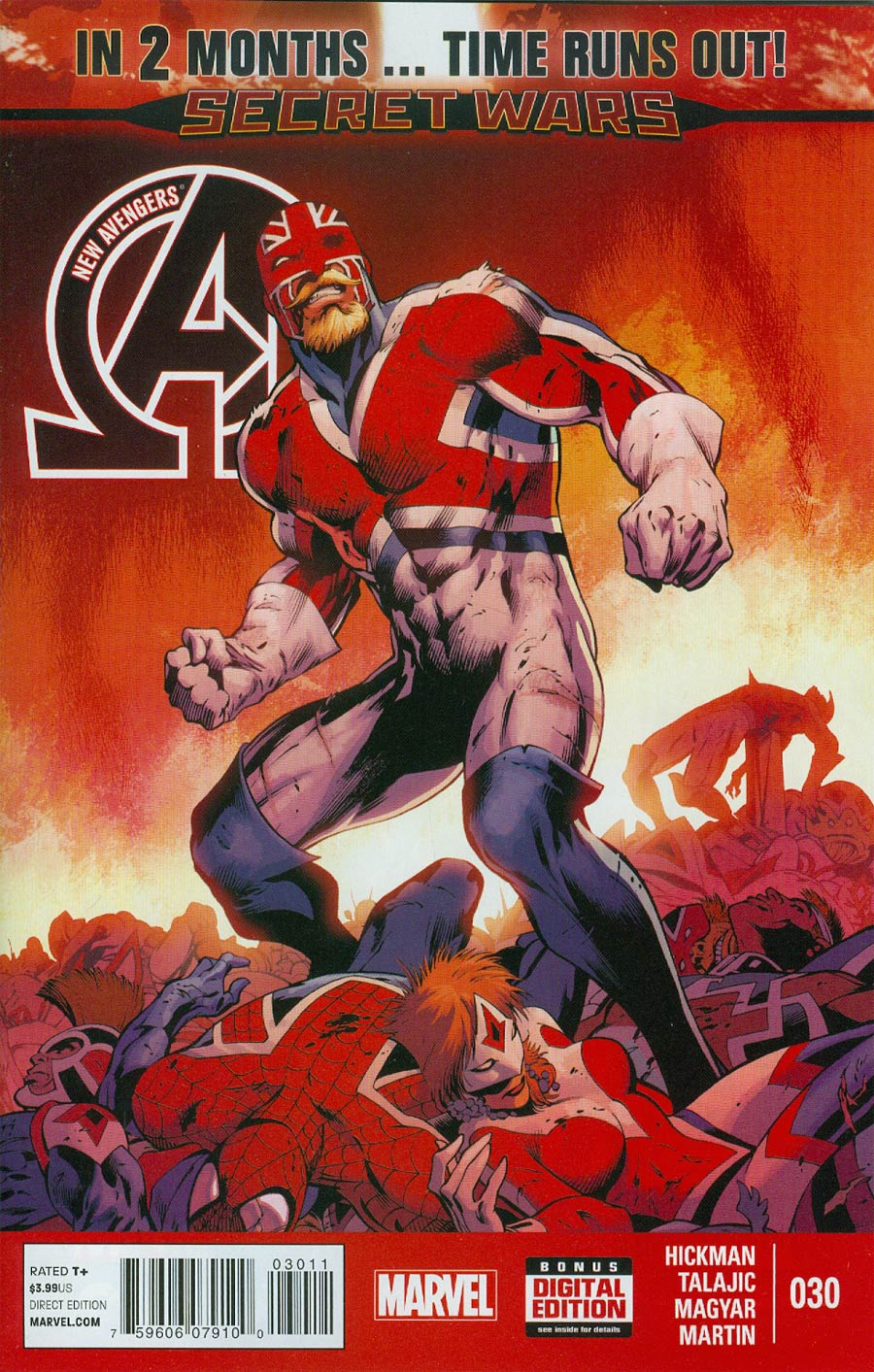 New Avengers Vol 3 #30 Cover A Regular Alan Davis Cover (Time Runs Out Tie-In)