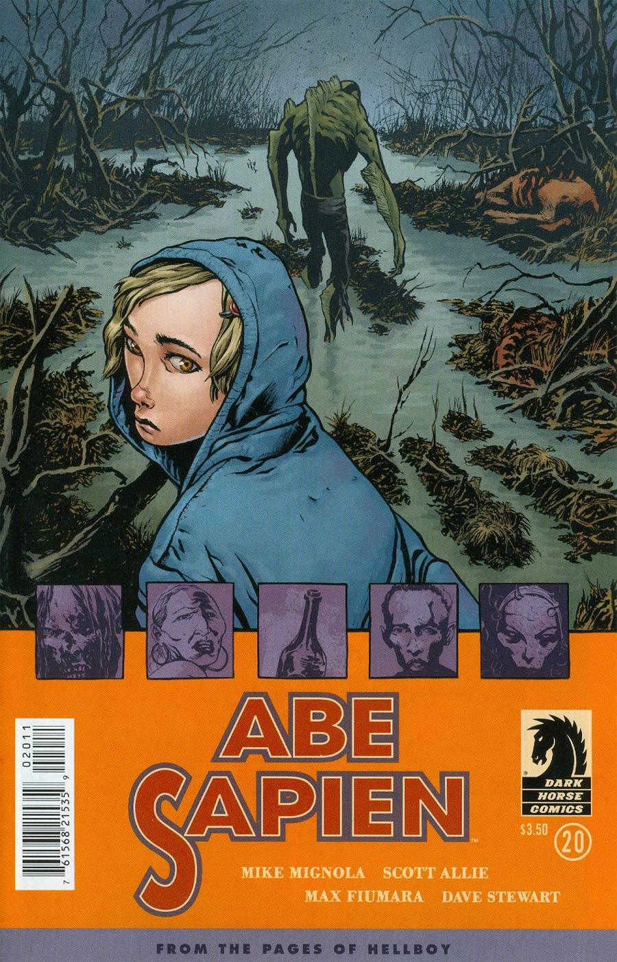 Abe Sapien #20