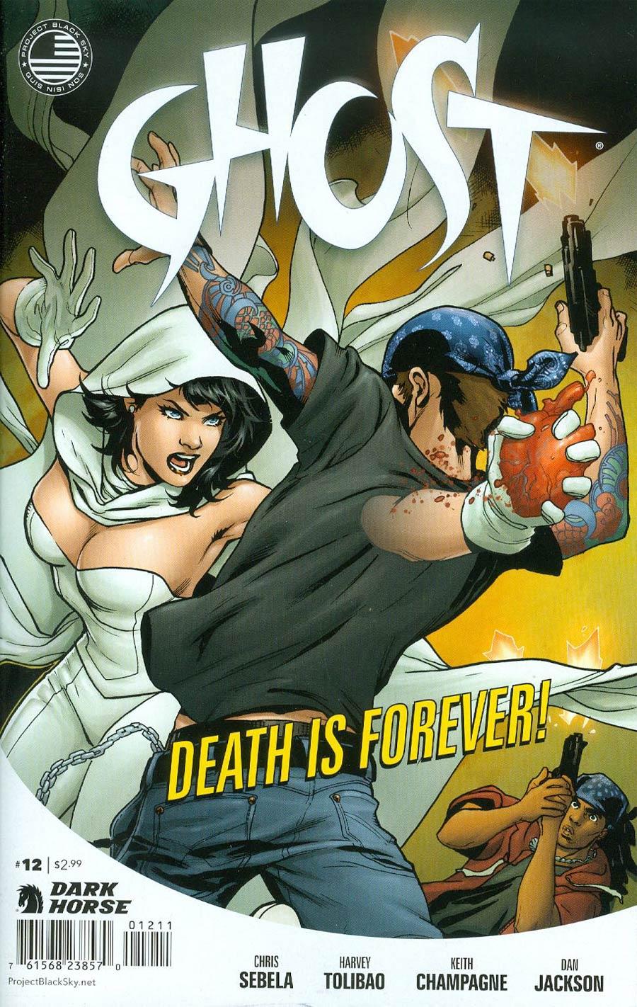 Ghost Vol 4 #12