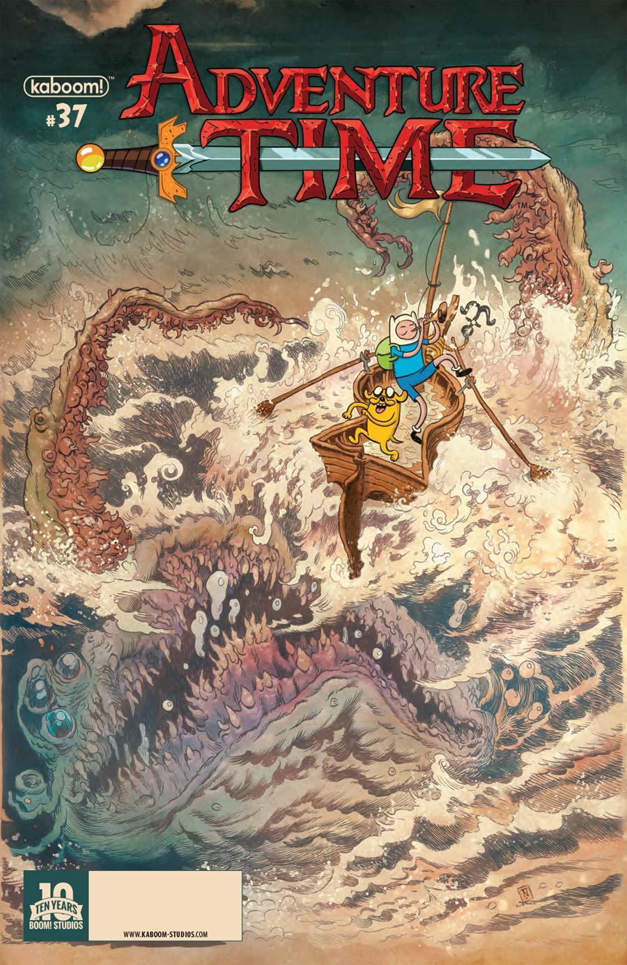 Adventure Time #37 Cover A Regular Tory Nixey Cover
