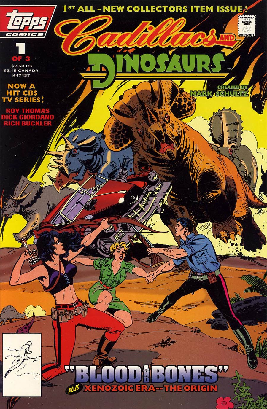 Cadillacs And Dinosaurs Vol 2 #1 Newsstand Edition