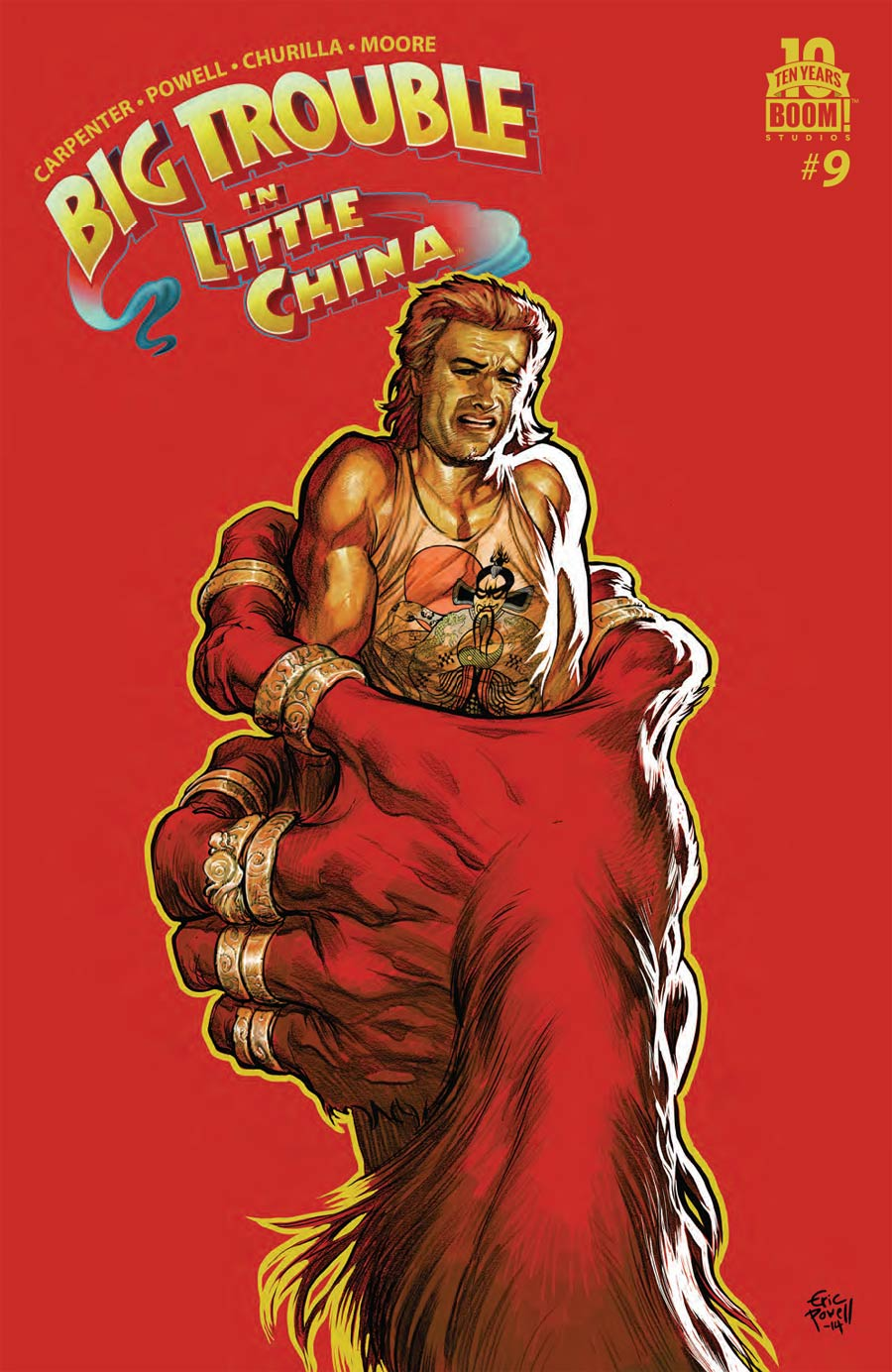 Big Trouble In Little China #9 Cover A Regular Eric Powell Cover