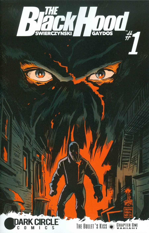 Black Hood Vol 3 #1 Cover B Variant Francesco Francavilla Cover