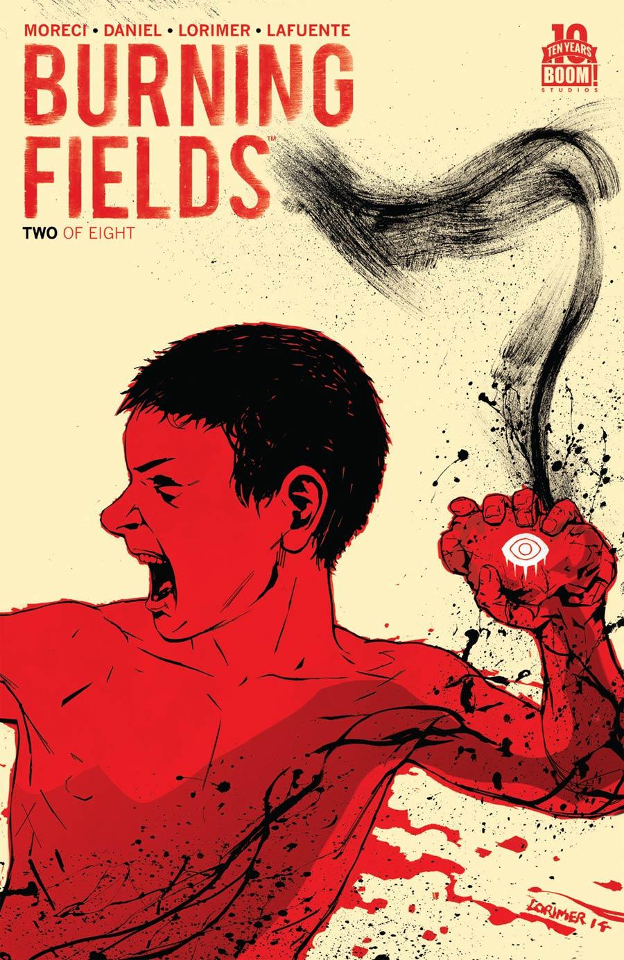 Burning Fields #2 Cover A 1st Ptg Regular Colin Lorimer Cover