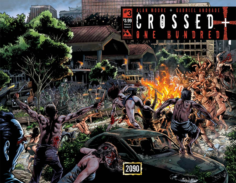 Crossed Plus 100 #3 Cover B American History X Wraparound Cover