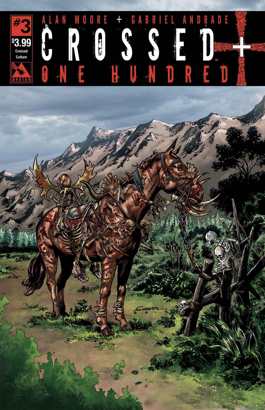 Crossed Plus 100 #3 Cover C Crossed Culture Cover
