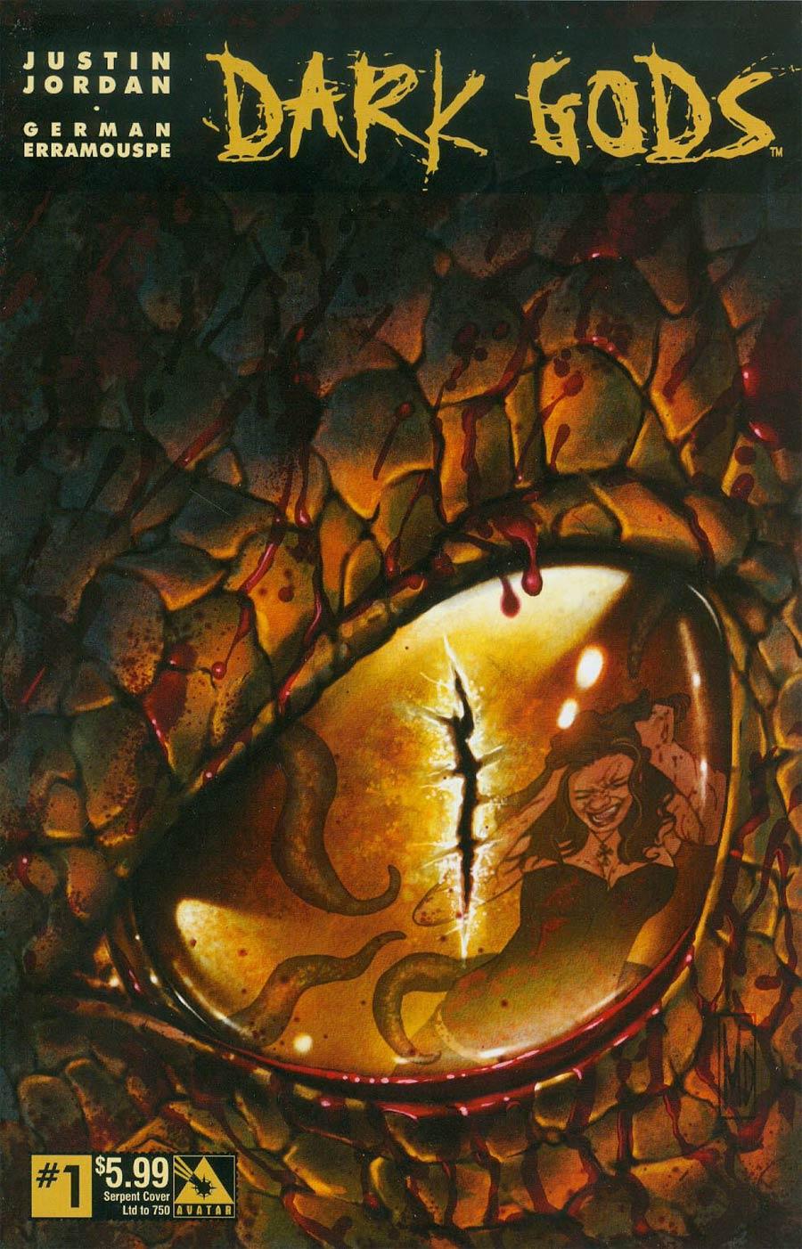 Dark Gods #1 Cover F Serpent Cover