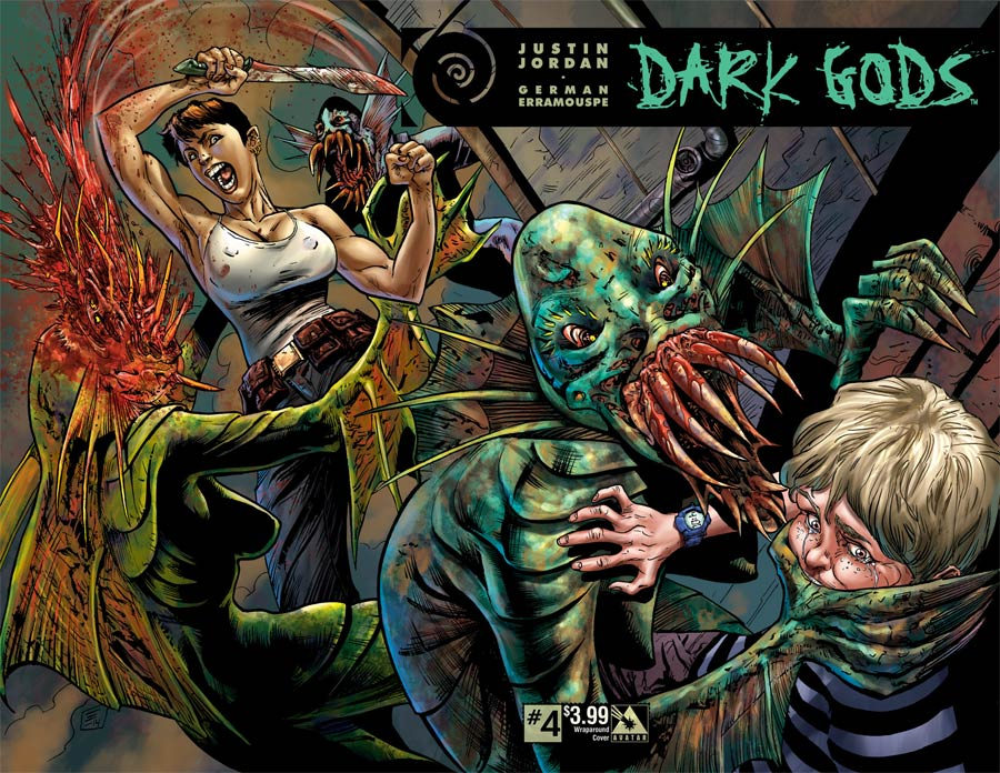 Dark Gods #4 Cover B Wraparound Cover