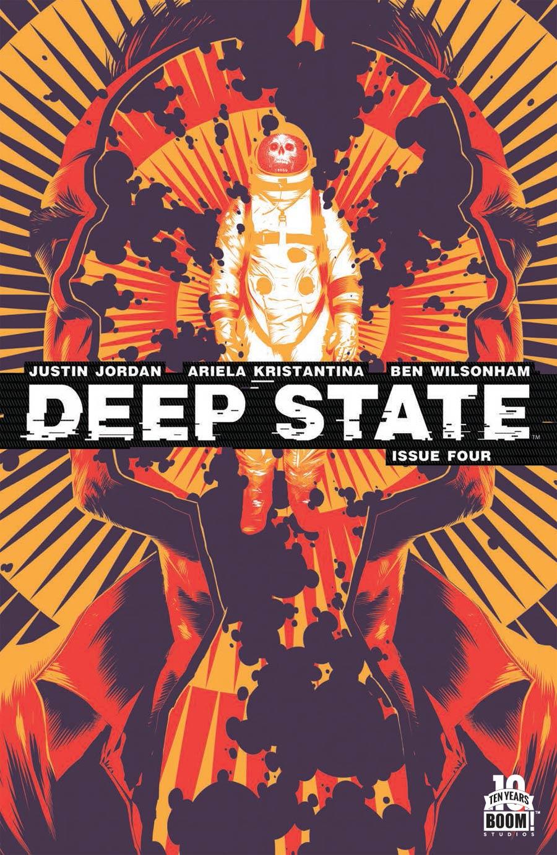 Deep State #4 Cover A Regular Matt Taylor Cover