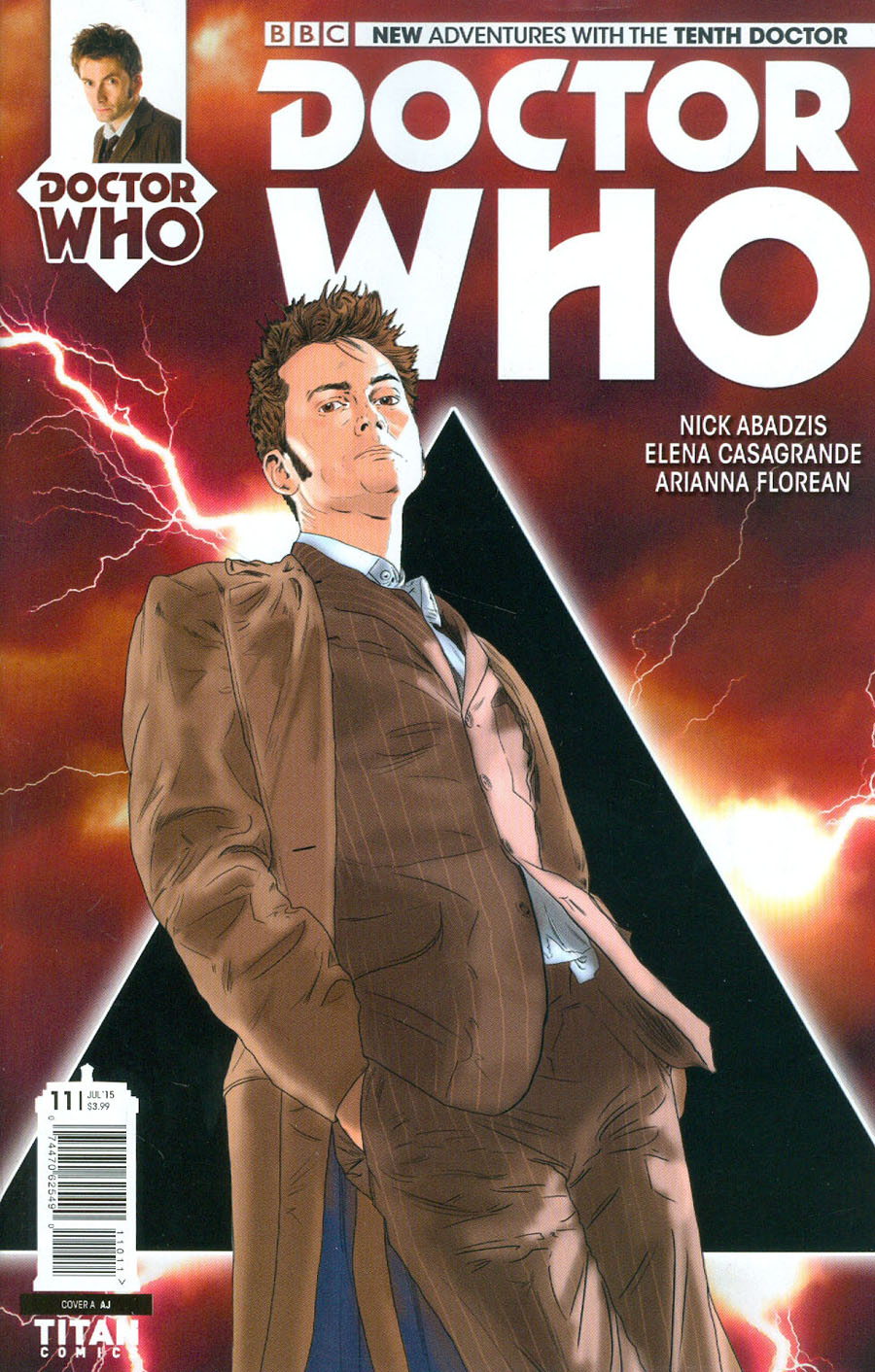 Doctor Who 10th Doctor #11 Cover A Regular AJ Cover