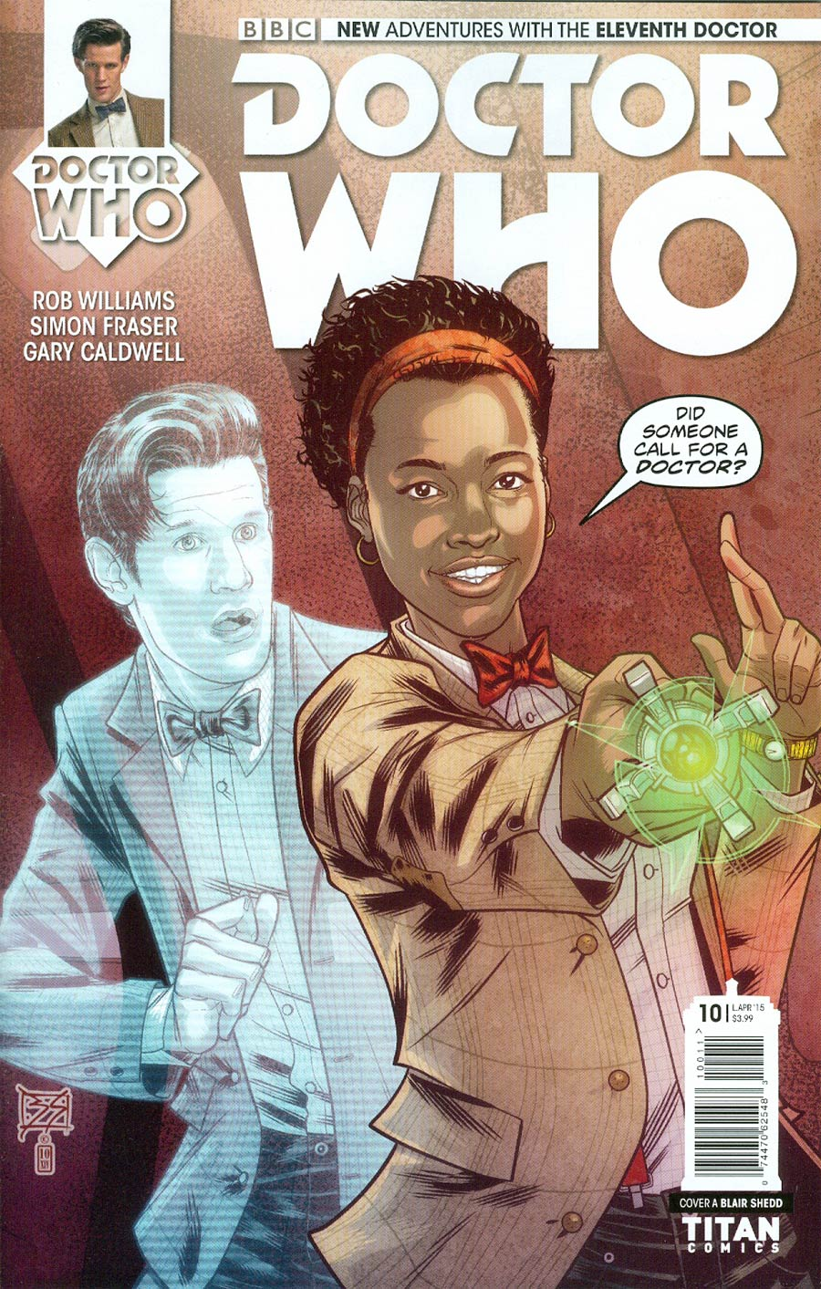 Doctor Who 11th Doctor #10 Cover A Regular Blair Shedd Cover