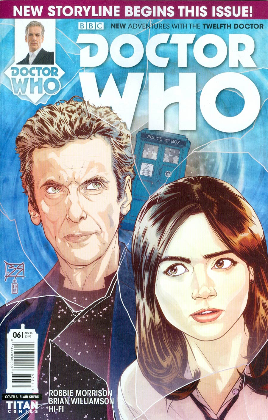 Doctor Who 12th Doctor #6 Cover A Regular Blair Shedd Cover