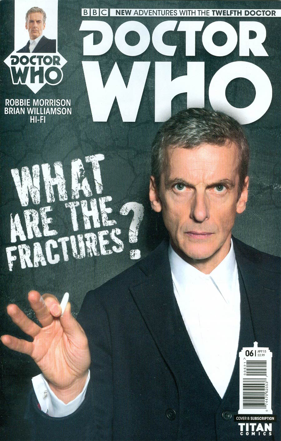 Doctor Who 12th Doctor #6 Cover B Variant Photo Subscription Cover