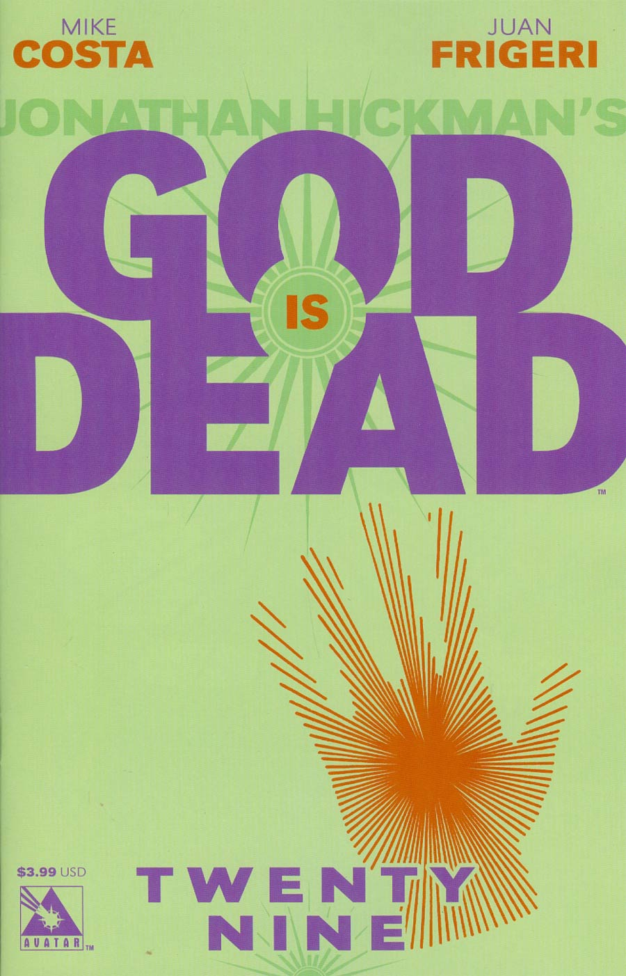 God Is Dead #29 Cover A Regular Cover