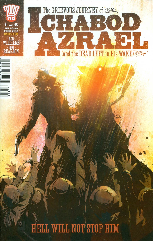 Grievous Journey Of Ichabod Azrael #1 Cover B Variant Lee Garbett Cover