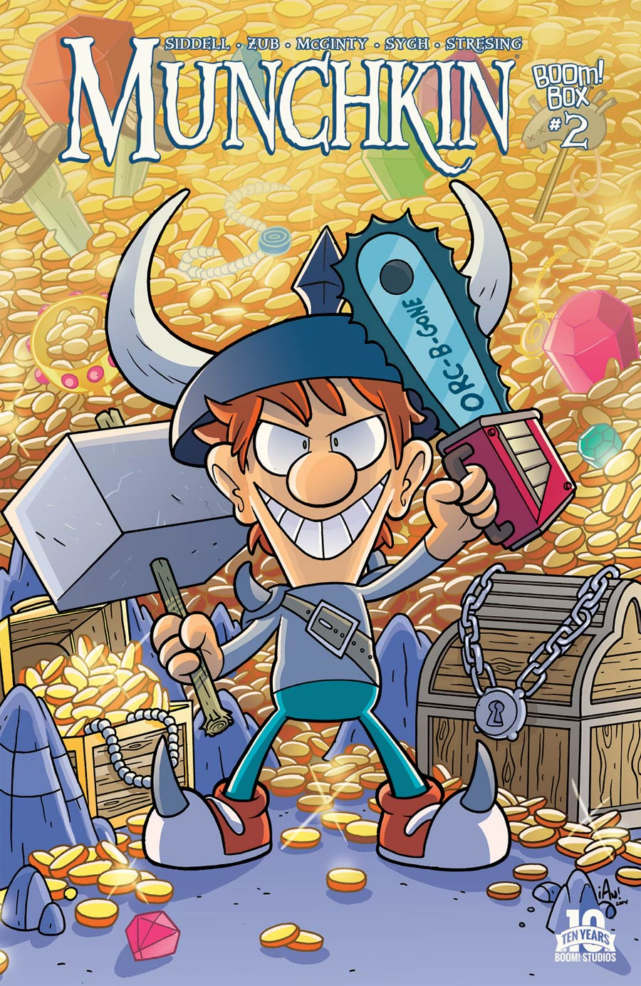 Munchkin #2 Cover A Regular Ian McGinty Cover