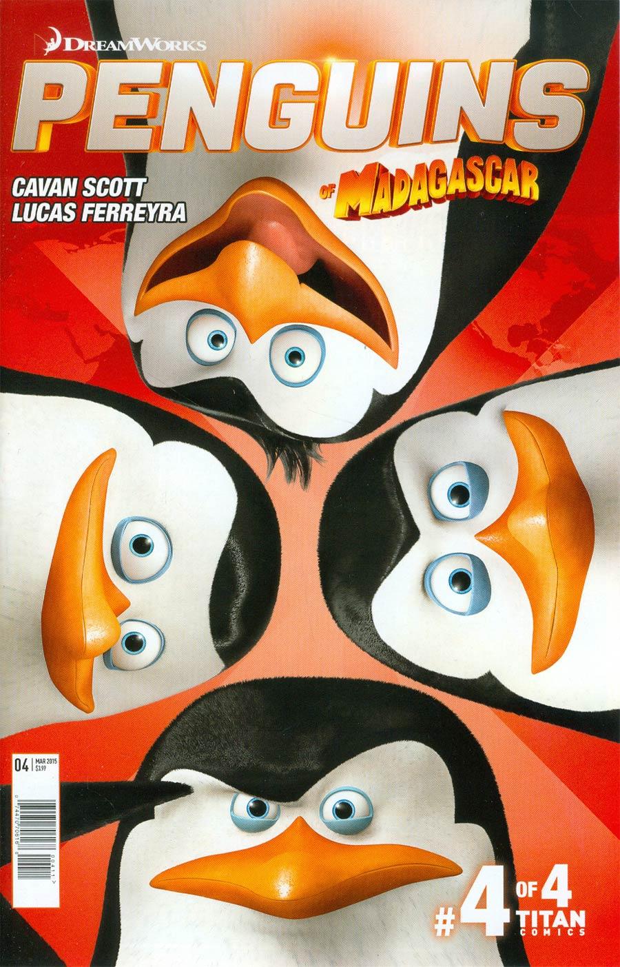 Penguins Of Madagascar Vol 3 #4