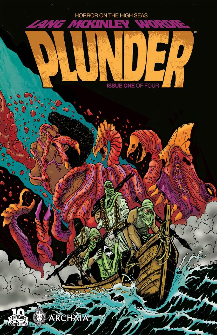 Plunder #1 Cover A Regular Skuds McKinley Cover