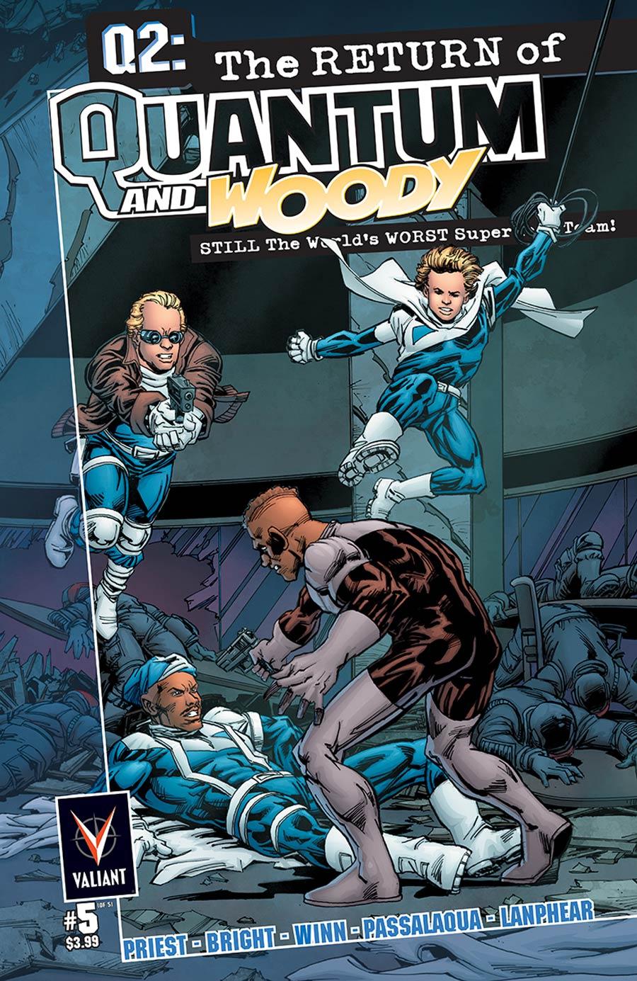 Q2 Return Of Quantum & Woody #5 Cover A Regular MD Bright Cover