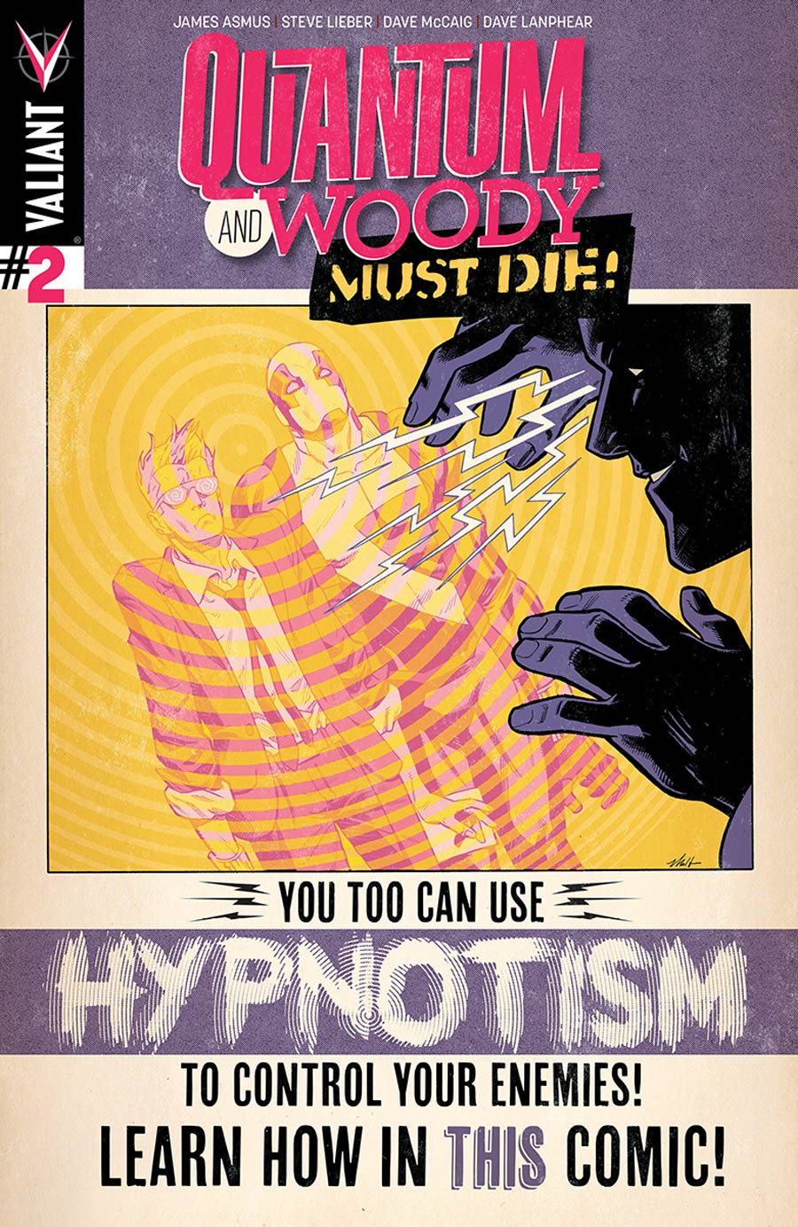Quantum & Woody Must Die #2 Cover A Regular Mike Hawthorne Cover
